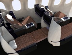 Business Class Seating Rockwell Collins