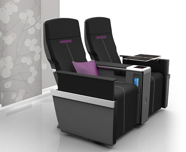 Miq Business Class Aircraft Seating Rockwell Collins
